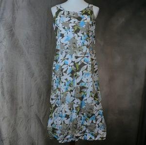 J. Jill cotton floral sundress 12P